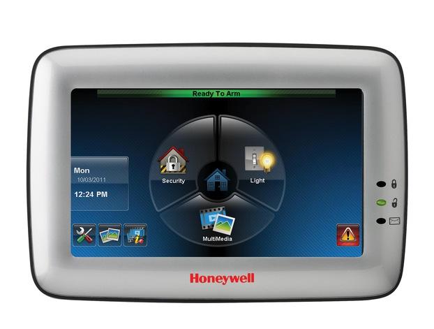 Honeywell Alarm Keypad GUI