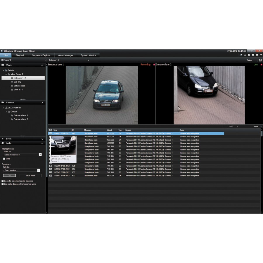 License Plate Capture And Recognition Lpr